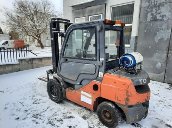 4-wheel front forklift TOYOTA 02-8FGJF35: picture 1