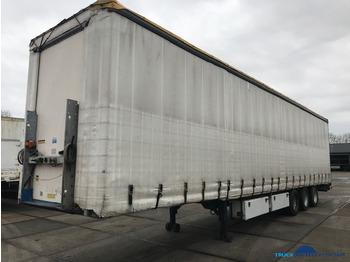 Curtainsider semi-trailer Groenewegen Mega Schuifzeilen schuifdak alu side Joloda tracks anti ice roof