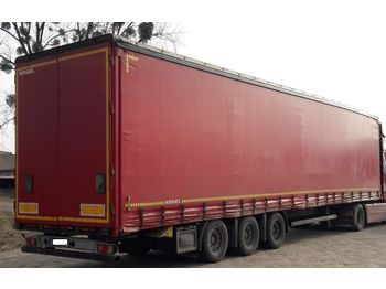 Curtainsider semi-trailer KÖGEL SN24 mega
