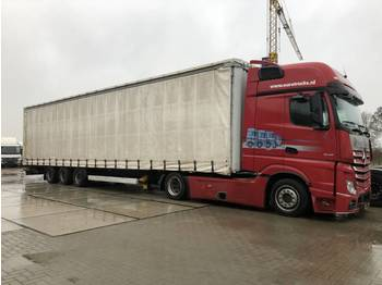 Krone SDP27 - curtainsider semi-trailer