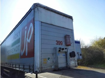 SCHMITZ Curtainsider - curtainsider semi-trailer