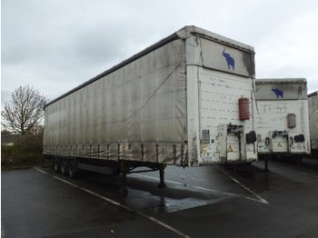 SCHMITZ Curtainsider Mega - curtainsider semi-trailer