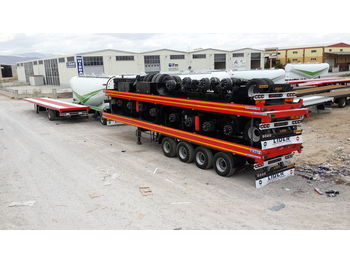 Dropside/ flatbed semi-trailer LIDER 2020 MODEL NEW LIDER TRAILER DIRECTLY FROM MANUFACTURER FACTORY