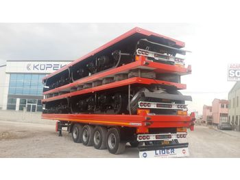 Dropside/ flatbed semi-trailer LIDER 2020 YEAR NEW TRAILER FOR SALE (MANUFACTURER COMPANY)