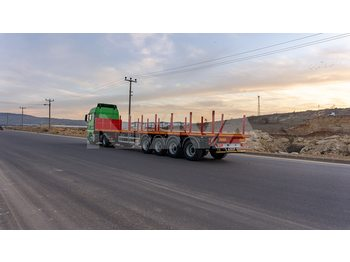 Dropside/ flatbed semi-trailer Nova 4 Axle Platform Semi Trailer From Factory
