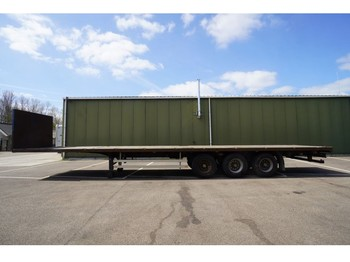 Pacton 3 AXLE FLATBED TRAILER - dropside/ flatbed semi-trailer