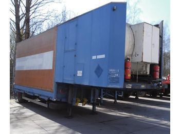 AUREPA cryogenic Gas fired Nitrogen vaporizer - tank semi-trailer