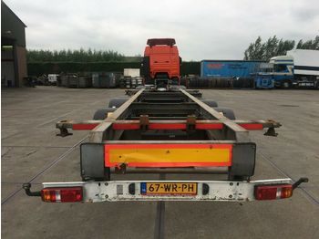 Container transporter/ swap body trailer Sommer ZW 18 T / CONTAINER TRANSPORT