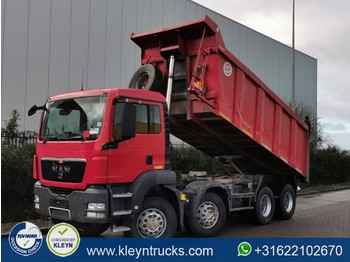 Tipper MAN 41.390 TGS 8x4 full steel