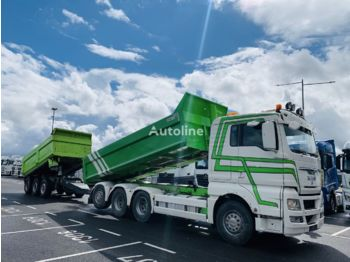 Tipper MAN TGX 35.540 Retarder 8x4